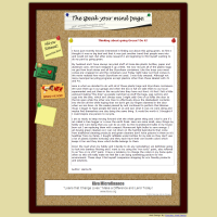 The Speak Your Mind Page